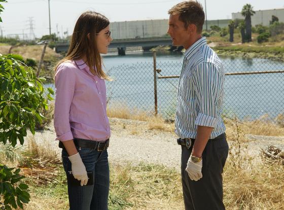 Дебра Морган и Квин из сериала Декстер (Dexter)